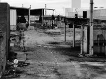 DESATIVATED ΒΙΟΜΗΧΑΝΙΚΕΣ ΕΓΚΑΤΑΣΤΑΣΕΙΣ Στοκ εικόνα με δικαίωμα ελεύθερης χρήσης