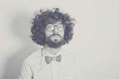 Desaturated Kunstfoto mit gutaussehendem Mann lizenzfreie stockfotos