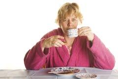 Desayunar Fotografía de archivo libre de regalías