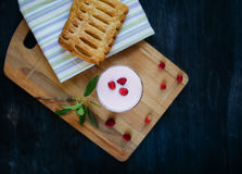 Desayuno útil y sabroso Foto de archivo