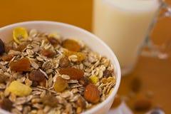 Desayuno 1 de Muesli Foto de archivo