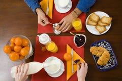 Desayuno Foto de archivo libre de regalías