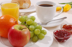 Desayuno. Fotos de archivo