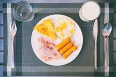 Desayuno imágenes de archivo libres de regalías