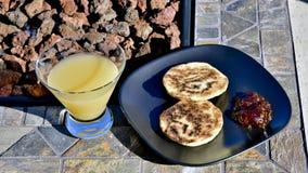 Desayuno al aire libre Fotografía de archivo