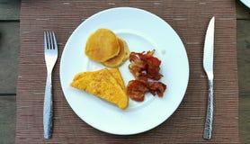 Desayuno americano Foto de archivo libre de regalías