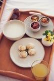 Desayuno asiático de la multa del estilo imagen de archivo libre de regalías