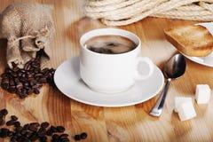 Desayuno austero de la mañana Foto de archivo