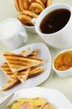 Desayuno caluroso Fotos de archivo libres de regalías