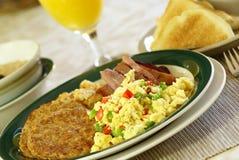 Desayuno caluroso Foto de archivo libre de regalías