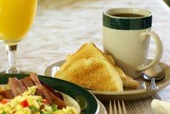 Desayuno caluroso Fotografía de archivo libre de regalías