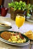 Desayuno caluroso Imagen de archivo