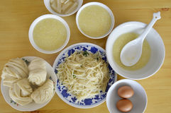Desayuno chino Fotos de archivo