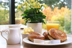 Desayuno clásico Foto de archivo libre de regalías