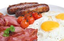Desayuno cocinado inglés imagen de archivo libre de regalías