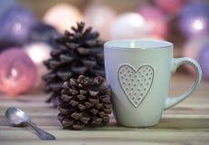 Desayuno con amor Imagen de archivo libre de regalías