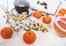 Desayuno con café Imagenes de archivo
