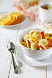 Desayuno con sabor a fruta Imagen de archivo