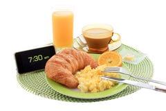 Desayuno continental fotografía de archivo