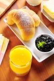 Desayuno continental Imagen de archivo libre de regalías