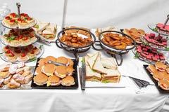 Desayuno de la comida fría Fotos de archivo libres de regalías