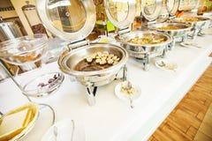 Desayuno de la comida fría Imagen de archivo