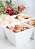 Desayuno de la comida sana Imagenes de archivo