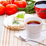 Desayuno de la dieta Imagen de archivo