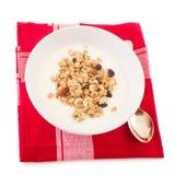 Desayuno de la dieta Imagen de archivo libre de regalías