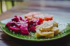Desayuno de la fruta de Healty Fotografía de archivo libre de regalías