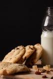 Desayuno de la leche Imágenes de archivo libres de regalías