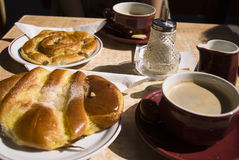 Desayuno de la mañana Imagenes de archivo