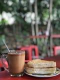 Desayuno de la mañana fotografía de archivo