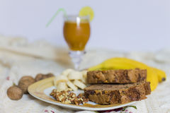 Desayuno de la mañana Foto de archivo libre de regalías