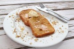 Desayuno de la tostada francesa Foto de archivo
