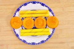 Desayuno de los pasteles fotos de archivo libres de regalías