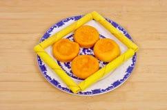Desayuno de los pasteles foto de archivo