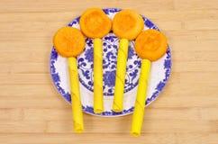 Desayuno de los pasteles fotografía de archivo libre de regalías