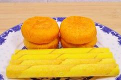 Desayuno de los pasteles fotos de archivo