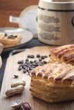 Desayuno de los pasteles Foto de archivo libre de regalías