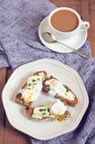 Desayuno de lujo Foto de archivo libre de regalías