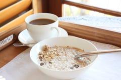 Desayuno de lujo elegante Imagen de archivo libre de regalías