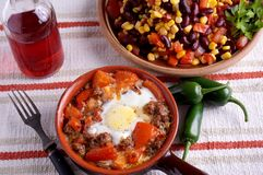 Desayuno de Pipperade Fotos de archivo