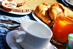 Desayuno del café Imágenes de archivo libres de regalías
