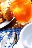 Desayuno del café Imagen de archivo