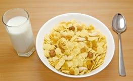 Desayuno del cereal Fotografía de archivo libre de regalías