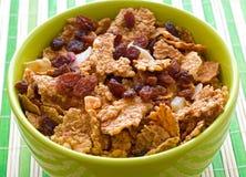 Desayuno del cereal Imagen de archivo libre de regalías