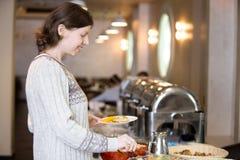 Desayuno del estilo de la comida fría Fotos de archivo libres de regalías