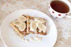 Desayuno del fin de semana. foto de archivo libre de regalías