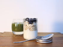 Desayuno del Granola imagen de archivo libre de regalías